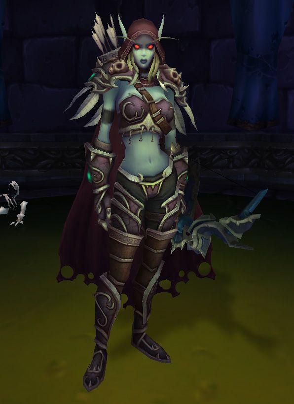 Lady Sylvanas, it is my goal to make a badass cosplay of you.