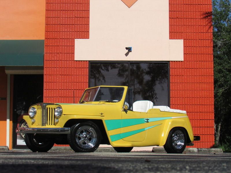 1949 Willys Overland JEEPSTER hot street rod for sale by Owner ...