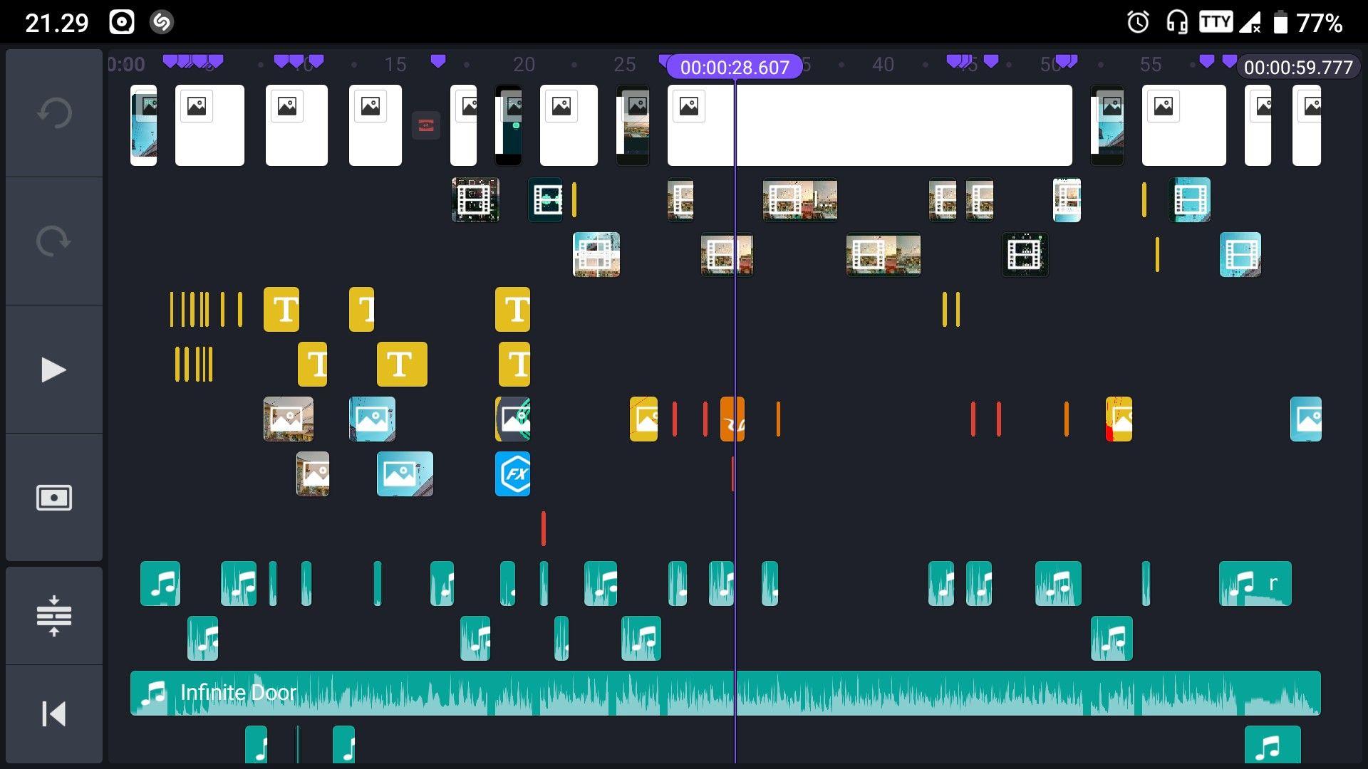 Kinemaster Editing Timeline Audio Aplikasi