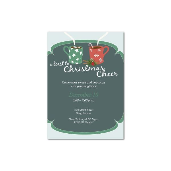 christmas breakfast invitation template google search