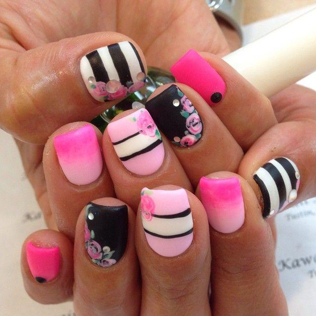 kawaii #kawaiinails #nails #nailart #gel #gelnails #presto #calgel ...