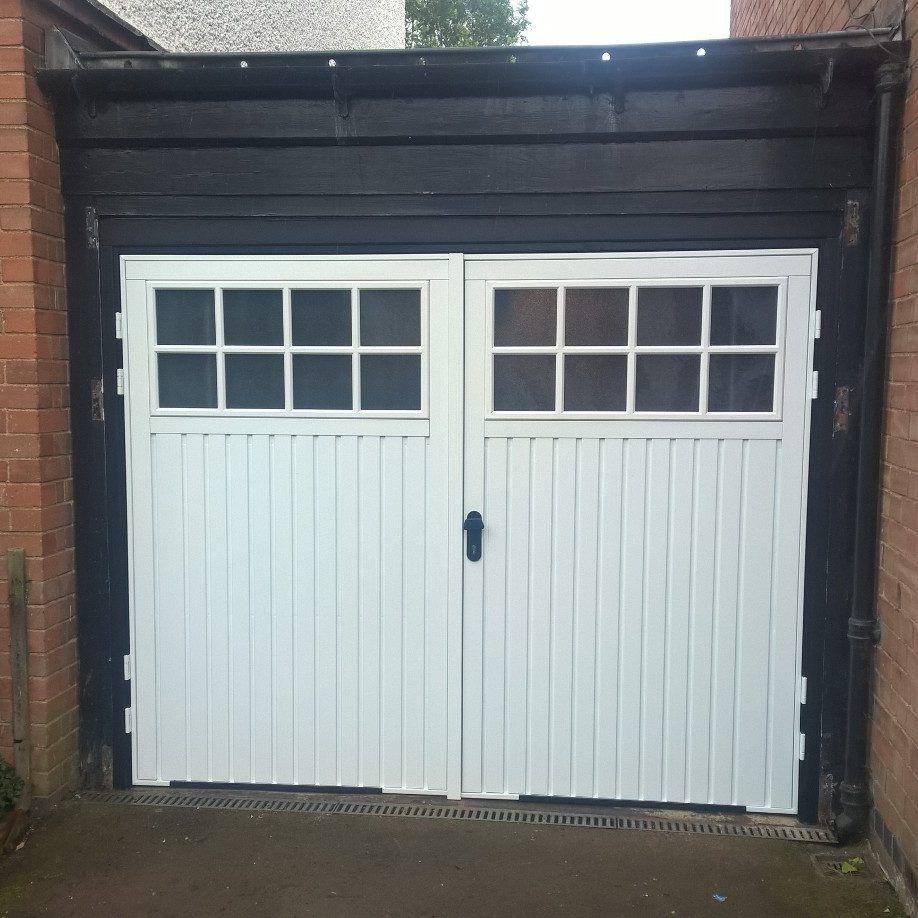 Pin by elite garage doors midlands ltd on side hinged garage garage doorsgarages rubansaba