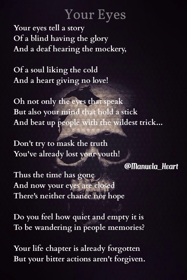 Poem! #YourEyes