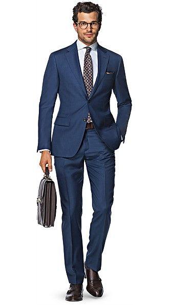 d7edf375 Napoli Blue Plain Suitsupply Napoli, Suit Fashion, Fashion Dresses, Mens  Fashion, Evening
