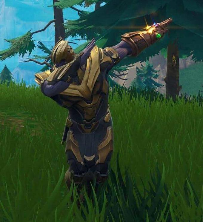 Thanos Dab The Dab Epic Games Fortnite Epic Games Best Gaming Wallpapers