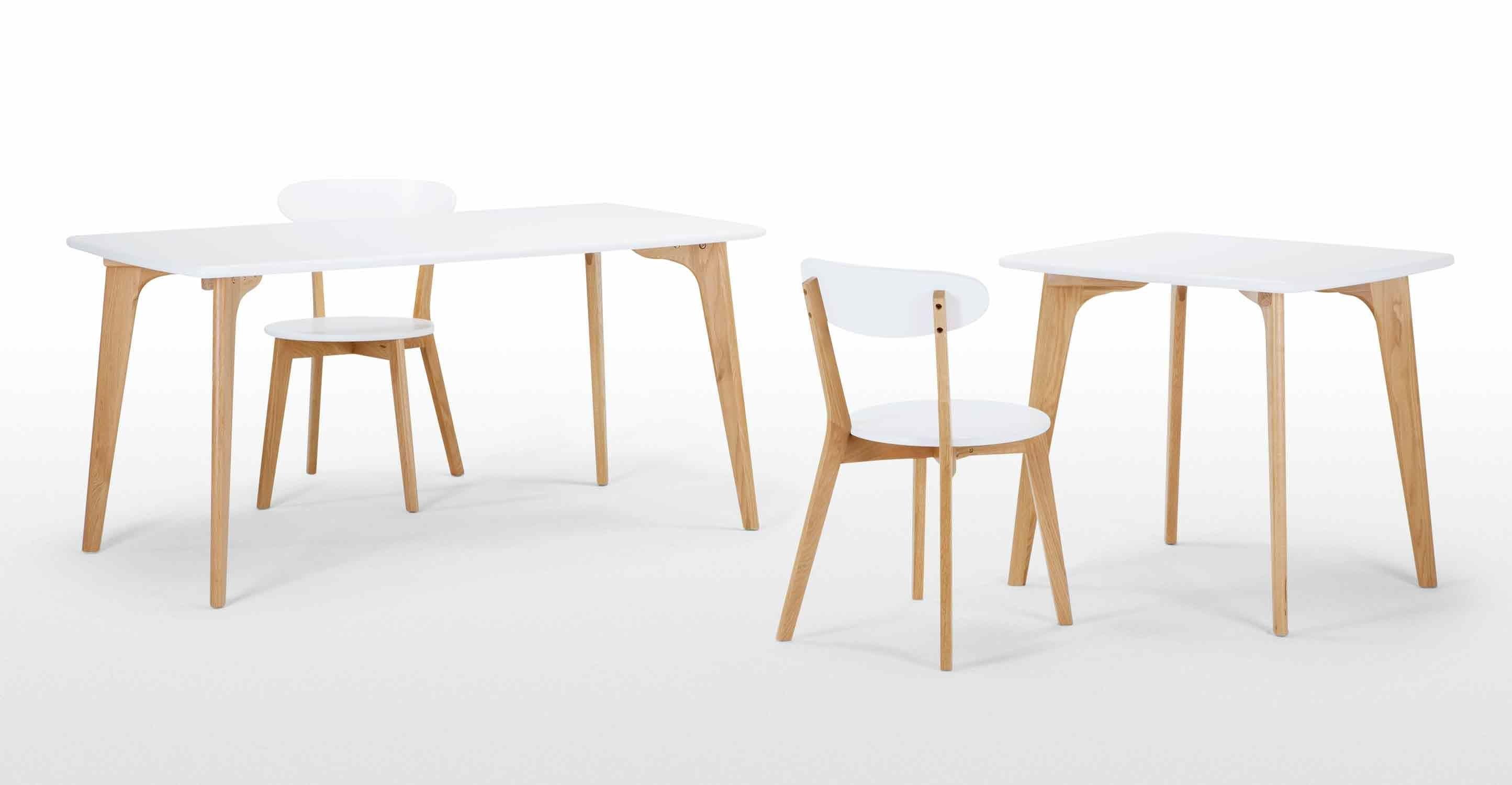 fjord rechteckiger esstisch eiche und wei neues design f r dein zuhause entdecke jetzt tische. Black Bedroom Furniture Sets. Home Design Ideas