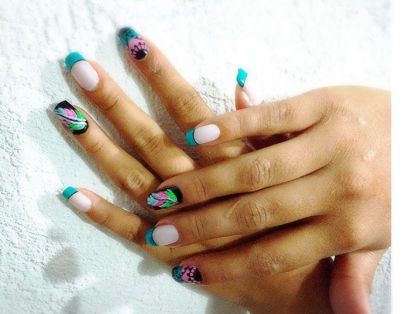 Retomando el trabajo de las uñas...