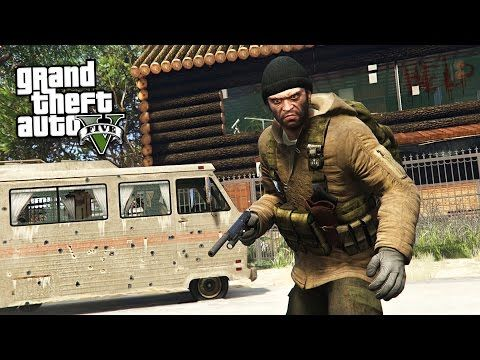 GTA 5 Zombie Apocalypse Mod #5 - SEARCHING FOR MY FAMILY