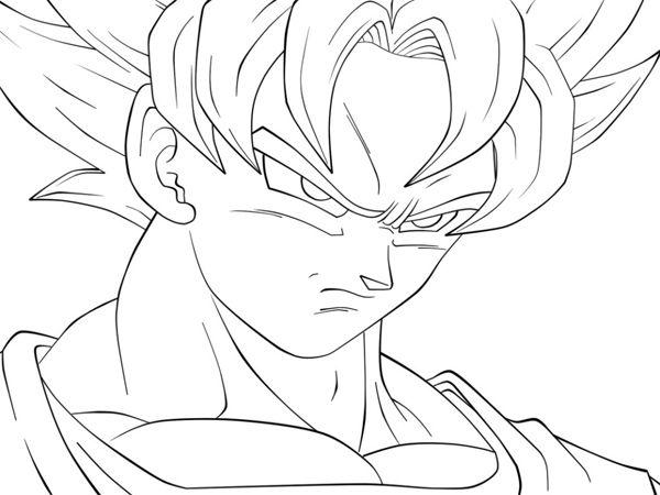 Desenhos Para Colorir Do Dragon Ball Z Desenhos Pinterest