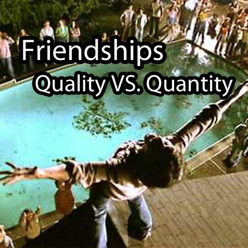 Dating quality over quantity