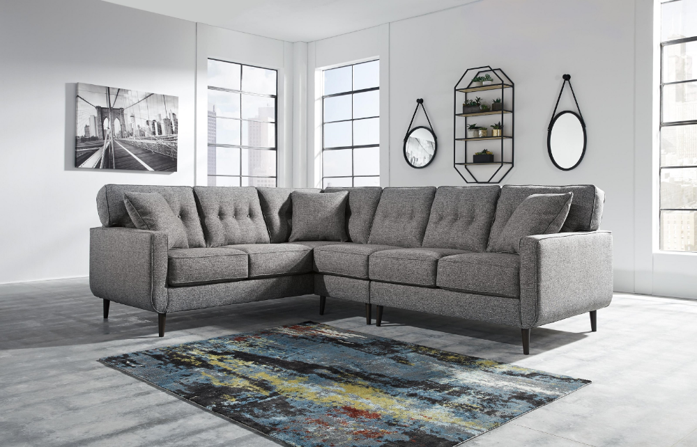 Zardoni 3 Piece Left Arm Facing Sectional By Ashley