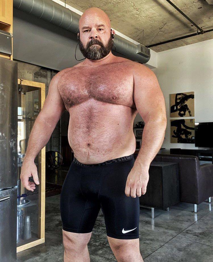 Pin by Edward Bass on Beard in 2021 | Muscle bear men