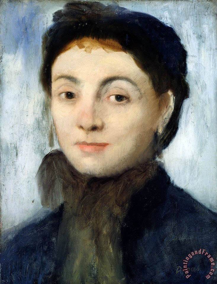 Edgar Degas Portrait of Josephine Gaujelin
