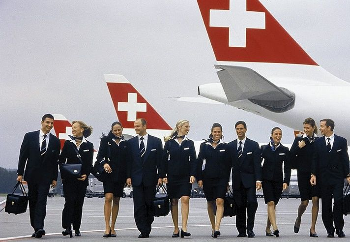 Image result for Swiss Air cabin crew uniform new