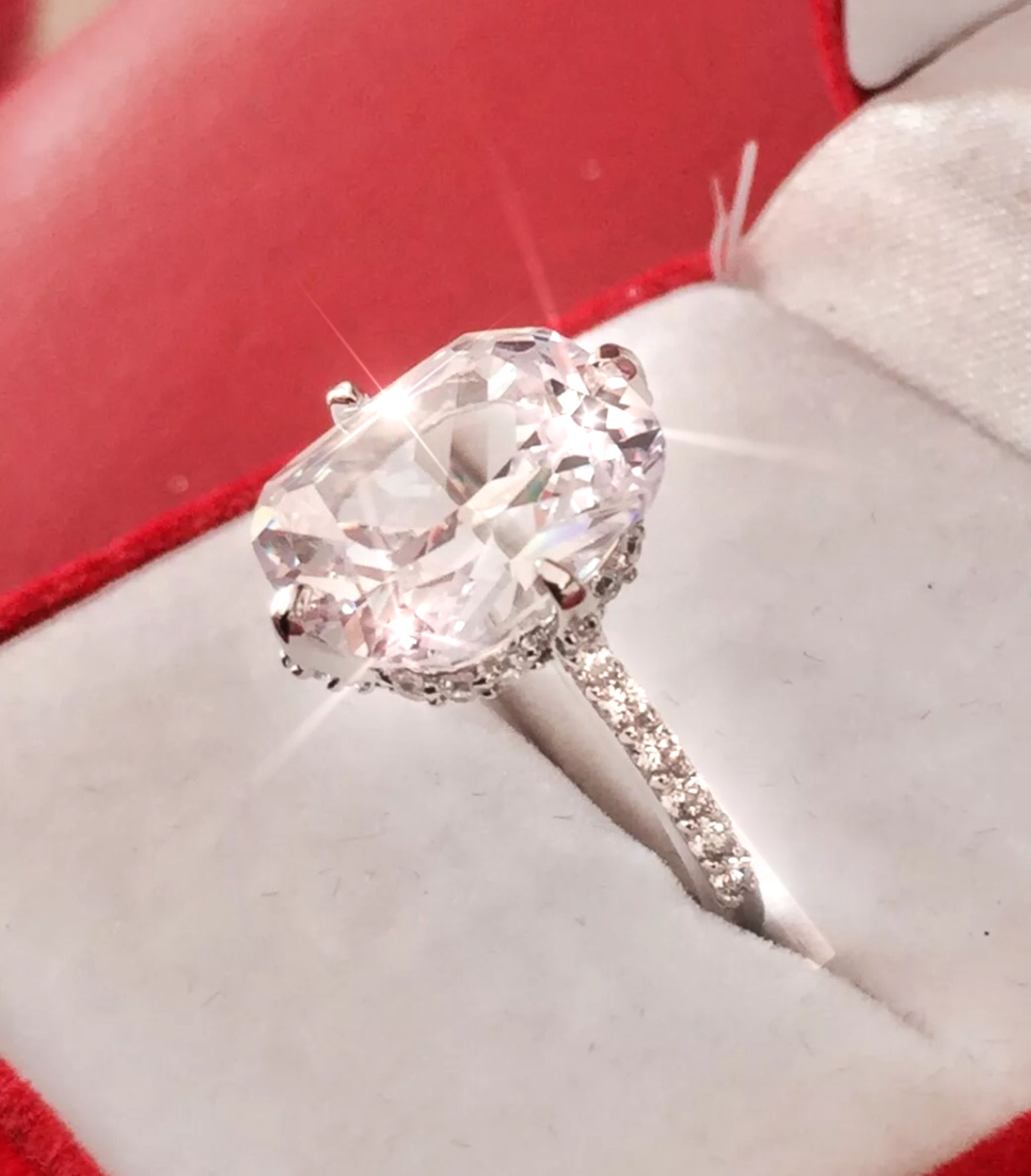 Find This Pin And More On Affordable Temporary Engagement Created Diamond Ring By Ginagina39