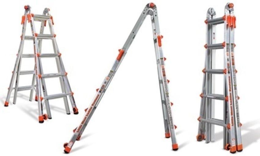 Little Giant LT-22 Foot Multi-Use Ladder 300 LB Weight Rating 33 Posititions #LittleGiantLadderSystemsLITHJ
