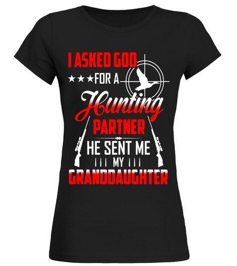 Hunting Shirts for Men/Grandpa. Birthday Gifts for Grandpa  -  Round neck T-Shirt Woman  #Shirts #TShirts #grandpabirthdaygifts