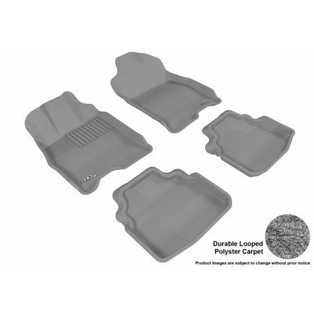 2010 2016 2nd /& 3rd Row 5 Piece Floor GGBAILEY D3562A-LSB-BK-LP Custom Fit Car Mats for 2007 2015 2014 2008 2013 2009 2011 Passenger 2017 Ford Expedition Black Loop Driver 2012