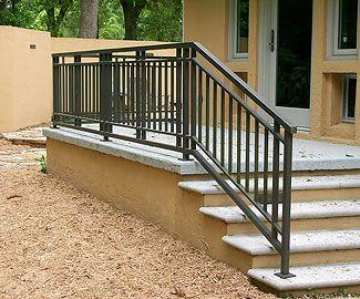 Best Craftsman Style Stair Railing Handrail Pinterest 400 x 300