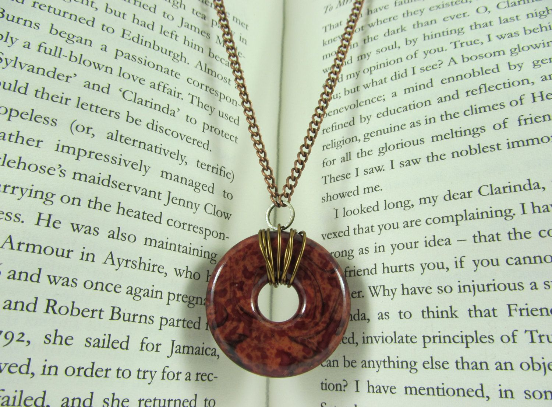 Vintage lucite ring pendant by moonstoneisle on etsy moonstone vintage lucite ring pendant by moonstoneisle on etsy aloadofball Gallery