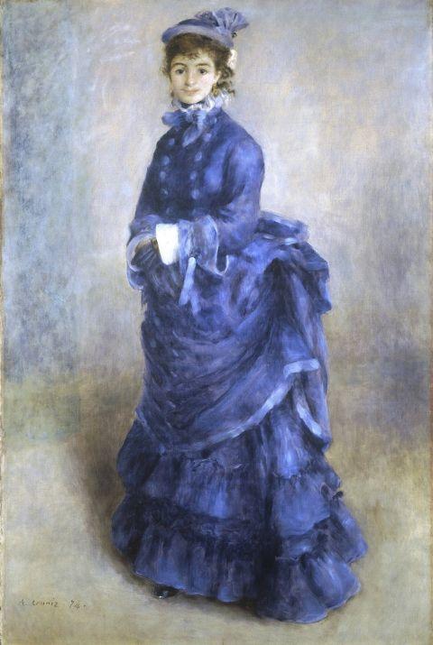 XIXème siècle A Parisienne » Renoir « Pinterest La 1874 qPpYP