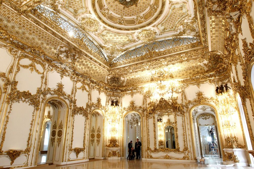 golden interior liechtenstein palace vienna hd pic liechtenstein palace vienna city palace. Black Bedroom Furniture Sets. Home Design Ideas