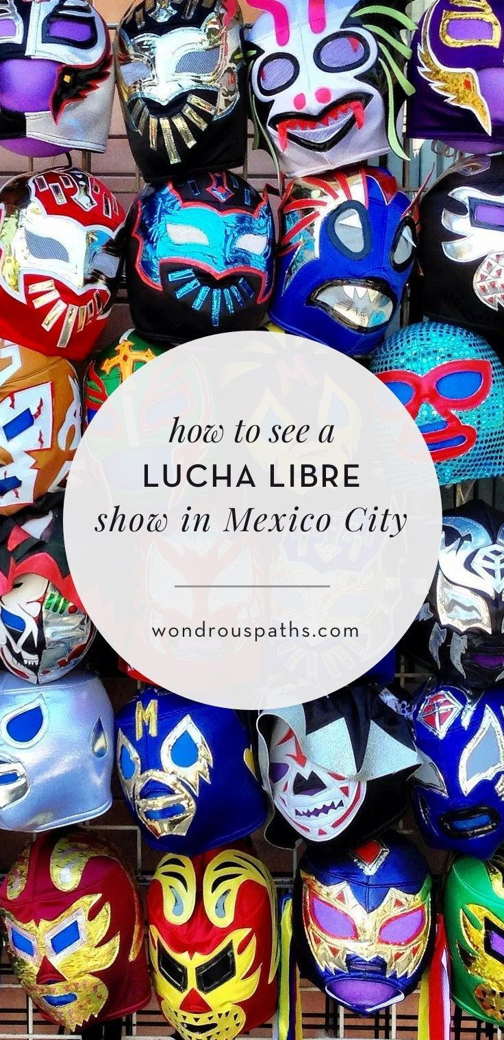 How to see a Lucha Libre show in Mexico City