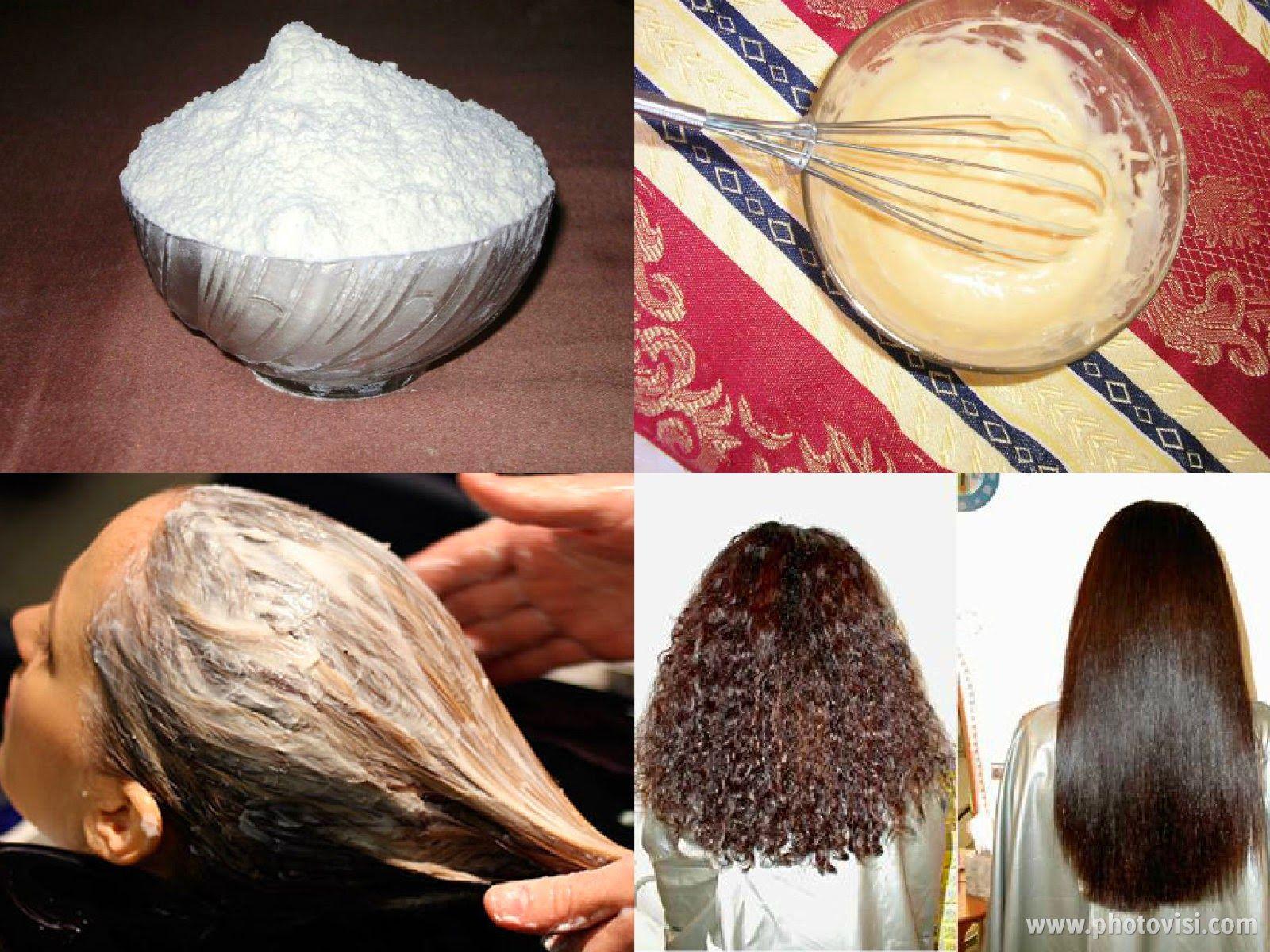 عالم الطبخ والجمال فرد الشعر بالنشا افضل طرق الفرد الطبيعية Hair Hair Care Beauty