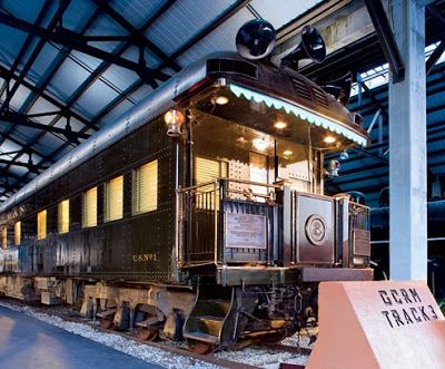 Mysteries And More From Saskatchewan The Mystery Of Fdr S Armored Train And Grand Central Terminal Train Train Car Train Travel
