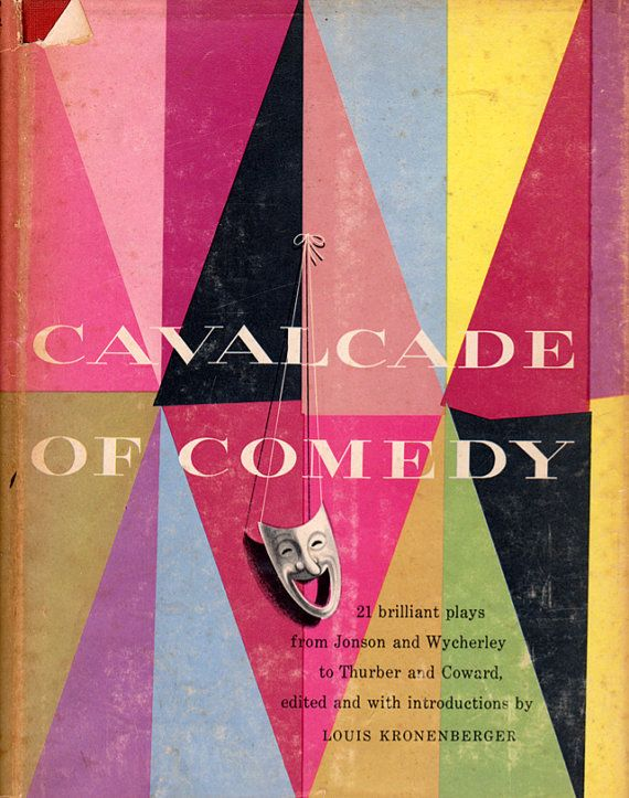 """1953 """"Cavalcade of Comedy"""" with cover design by Seymour Robins."""
