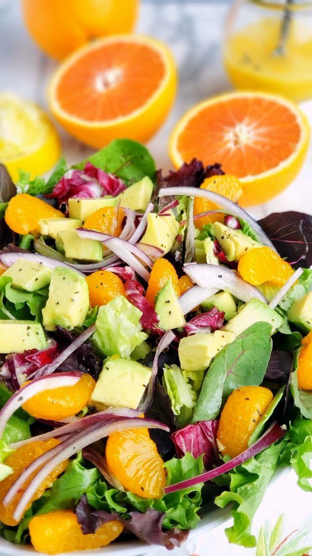 Orange And Avocado Salad Noble Pig Bloglovin Orange Salad Recipes Avocado Salad Recipes Avocado Salad
