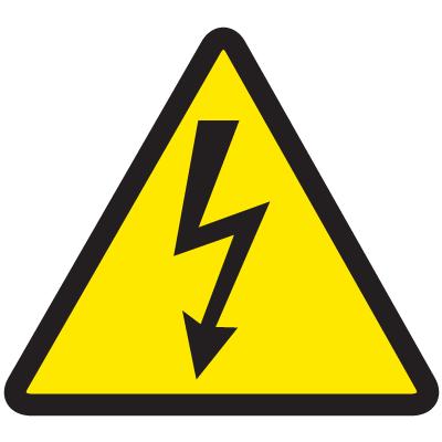 Iso Symbols Labels High Voltage High Voltage International Symbols Warning Labels