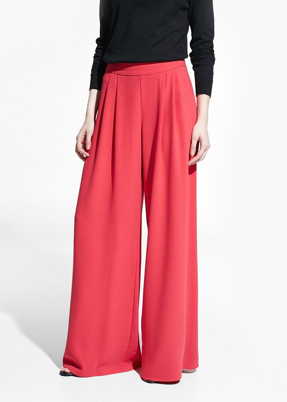 pantalon palazzo fluide femme printemps 2017 pantalons et chemise. Black Bedroom Furniture Sets. Home Design Ideas
