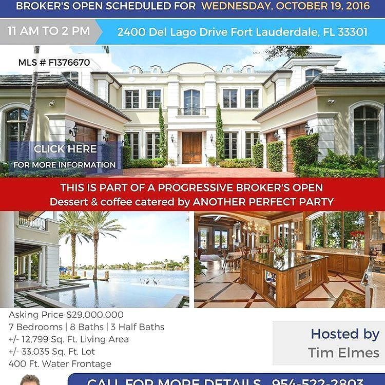From @timelmesgroup Experience International Luxury FOLLOW US. OPEN HOUSE  TODAY! 2400 Del Lago