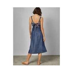 Denim Maxikleid Ted BakerTed Baker #pecanpie
