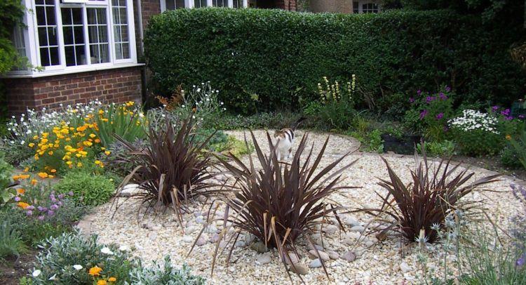 Gravier blanc pour le jardin: astuces et idées déco   Des idées pour ...