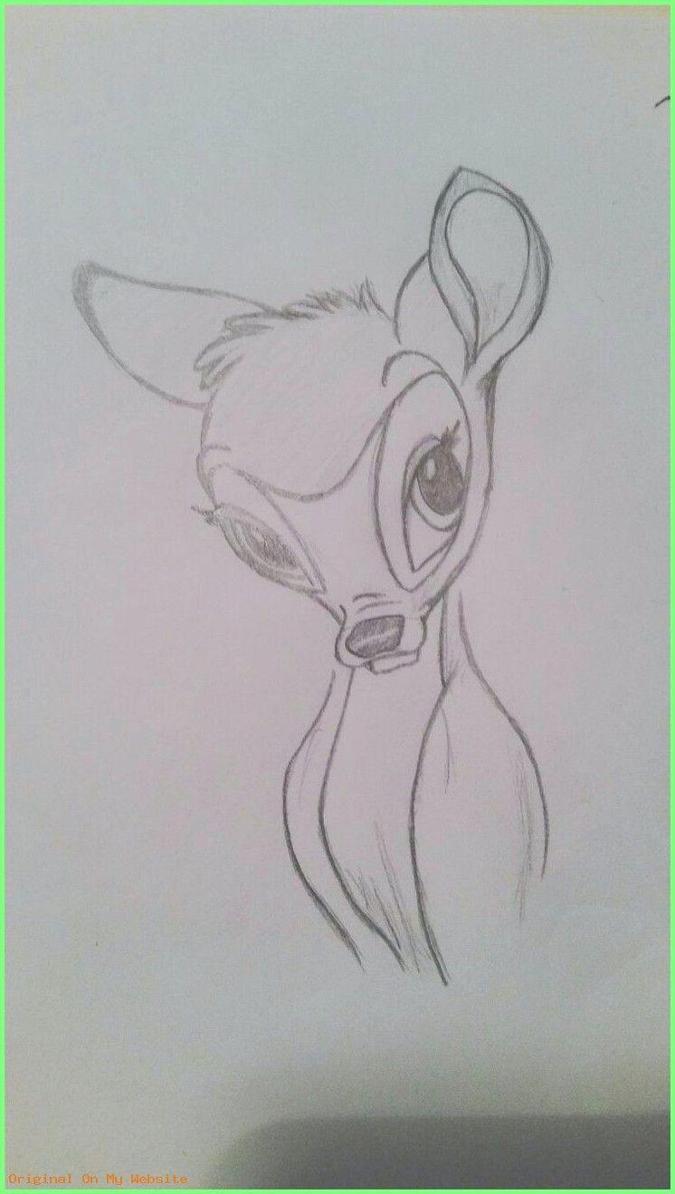 Disney Zeichnung meine ideen  - Bambi - #disneyzeichneneinfach