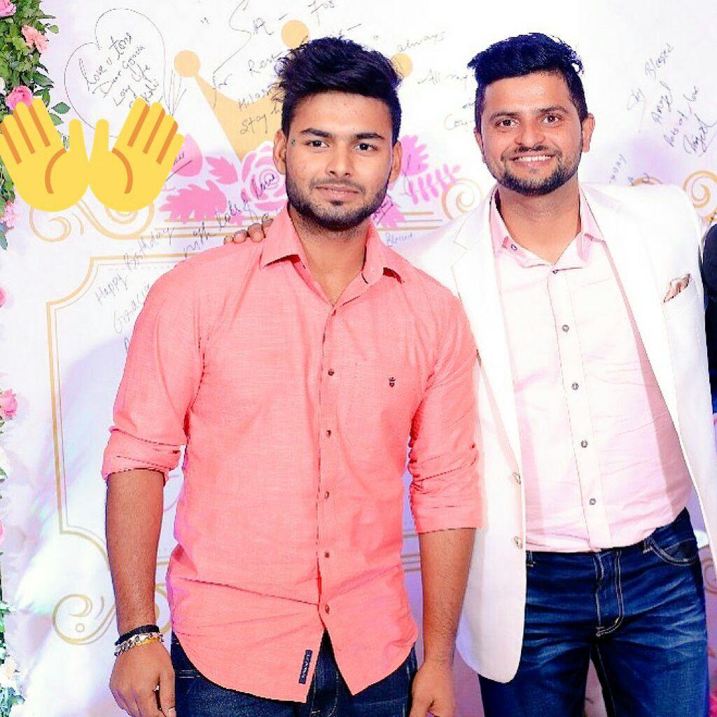 Rishabh Pant Suresh Raina (With images) Pants, Sports