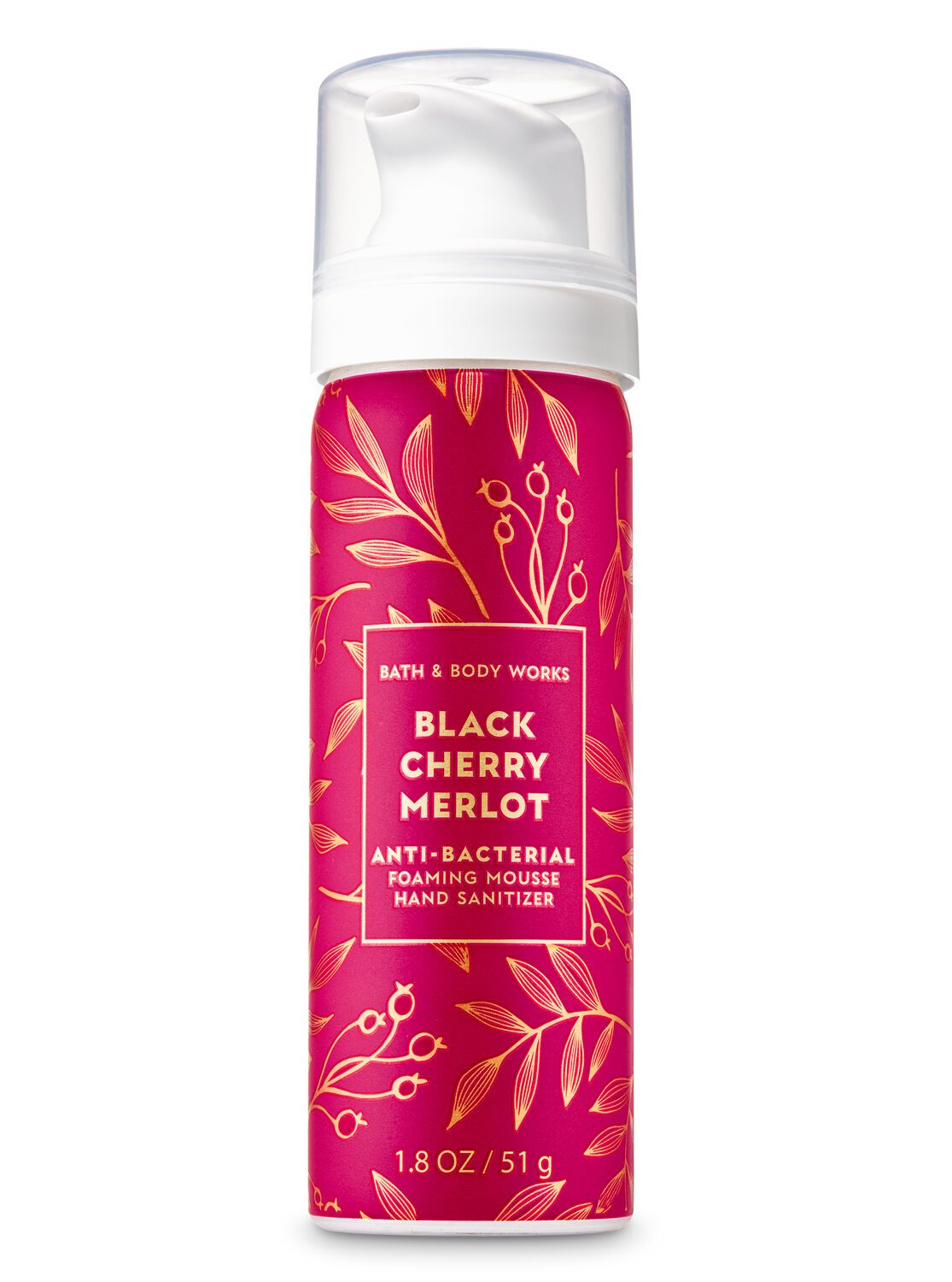Black Cherry Merlot Foaming Hand Sanitizer Bath Body Works