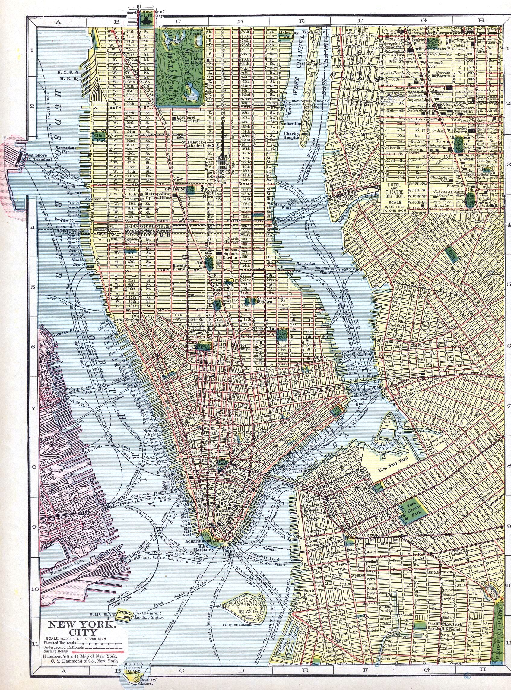 Map Of Lower Half Of Manhattan From  Looks Mostly The Same - Nyc map lower manhattan