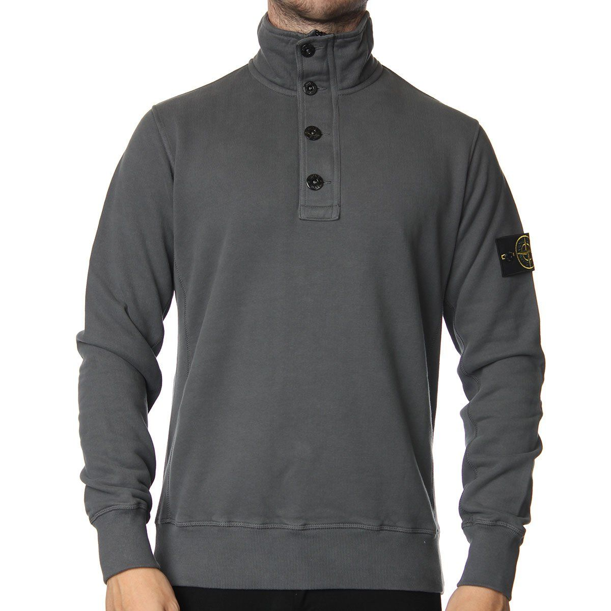 4458b3a90481 Stone Island 1 4 Zip Sweater. Shop now at www.themenswearsite.com ...
