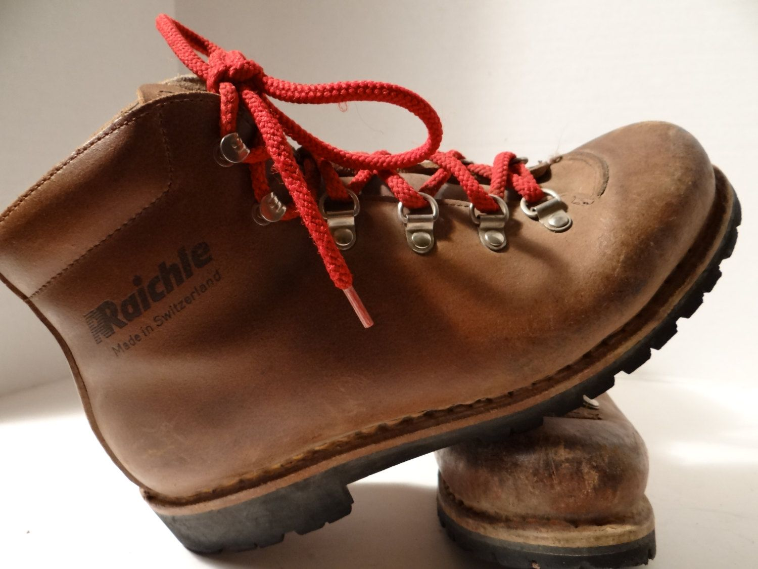 Just bought a pair of these vintage Raichle hiking boot. The same ...