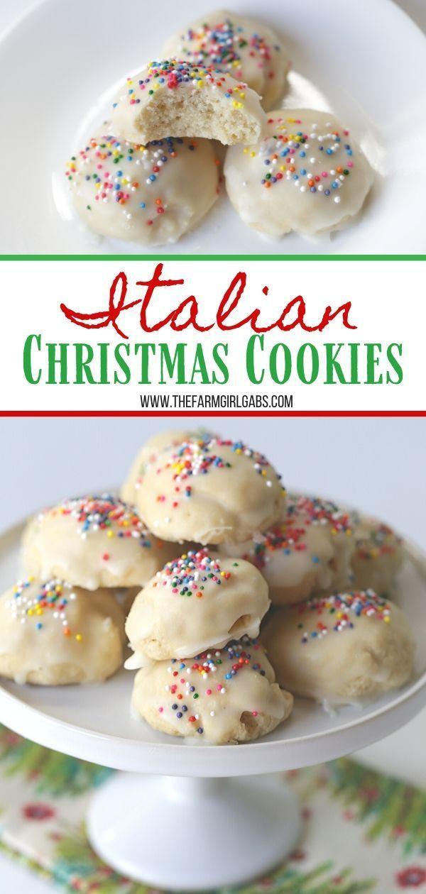 Italian Christmas Cookies - The Farm Girl Gabs