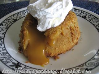 Inato lang Filipino Cuisine and More: MOLTEN BUTTERSCOTCH CAKE AND MOLTEN CHOCOLATE CAKE