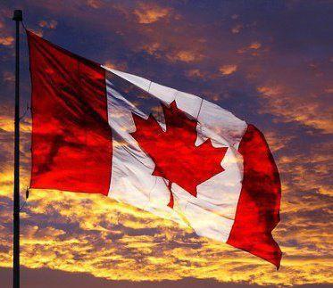 Canada Flag Sunset Canada Canada Day Happy Canada Day