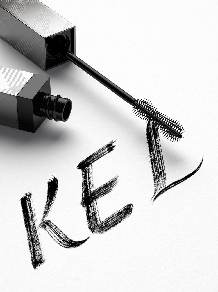 A Personalised Pin For Kel Written In New Burberry Cat Lashes