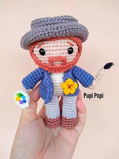 Ravelry: Mr. Van Gogh pattern by Pupi Popi