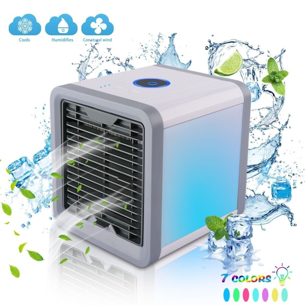 Mini Portable Air Conditioner Without Hose Windowless