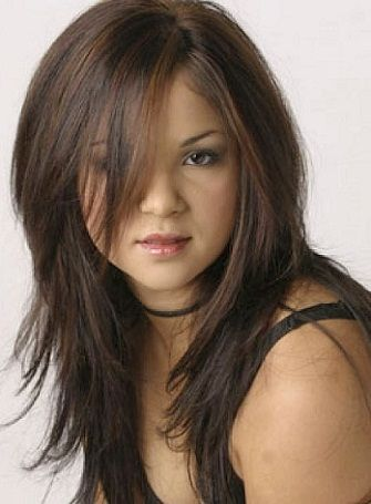 Hairstyles For Chubby Faces Alluring Top 25 Hairstyles For Fat Faces Of Women To Look Slim  Pinterest