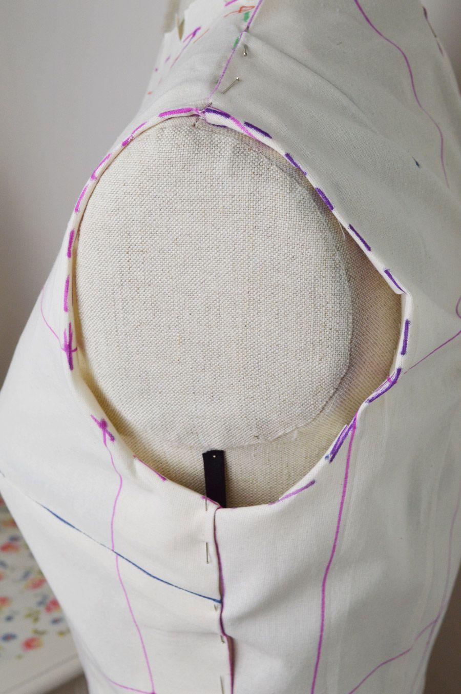 Armscye fun with fitting | sew must do | Pinterest | Costura ...